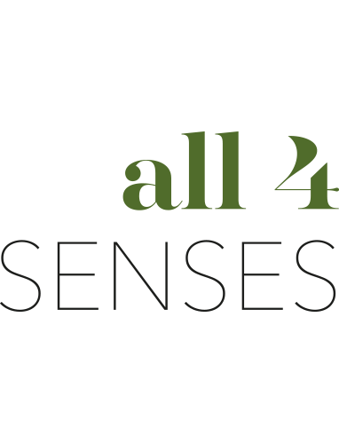 All 4 Senses logo